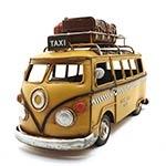 Miniatura de Kombi Taxi Amarelo Oldway