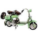 Miniatura de Lambretta Verde