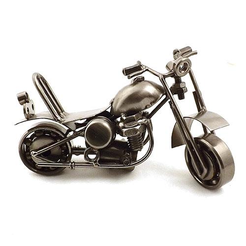 Miniatura da Moto Holy Day - Em Metal - 14x10 cm