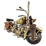 Miniatura de Moto Militar