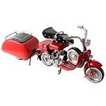 Miniatura Moto Vespa Vermelha