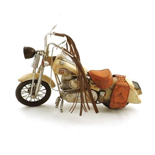 Miniatura de Motocicleta Indian Oldway - Em Metal - 34x21cm