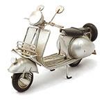 Miniatura de Motocicleta Prata