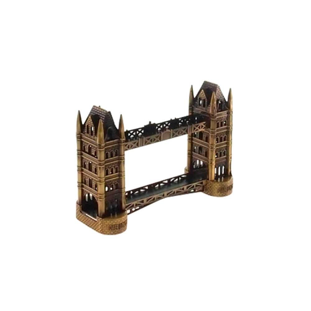 Miniatura Ponte de Londres Bronze em Metal - 17x12 cm