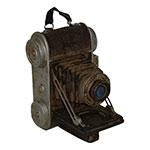 Miniatura Réplica Máquina Fotográfica com Alça em Resina