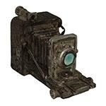 Miniatura Réplica Máquina Fotográfica Alta em Resina - 18x12 cm