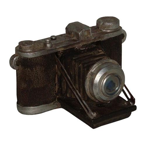 Miniatura Réplica Máquina Fotográfica Baixa em Resina - 8,5x8 cm