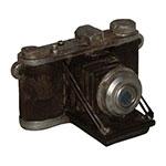Miniatura Réplica Máquina Fotográfica Baixa em Resina
