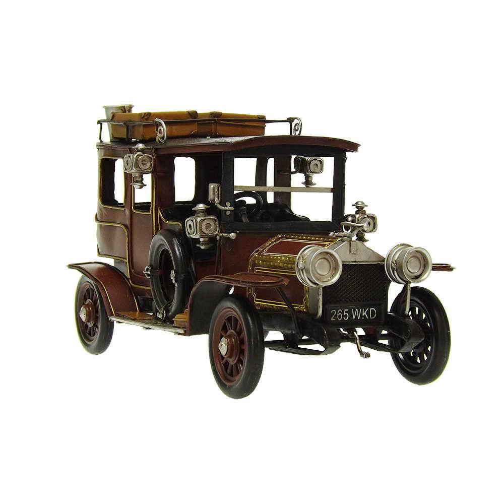 Miniatura Rolls Royce Modelo 1907 em Ferro - 33x18 cm