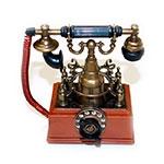 Miniatura Telefone Classic Retrô em Metal