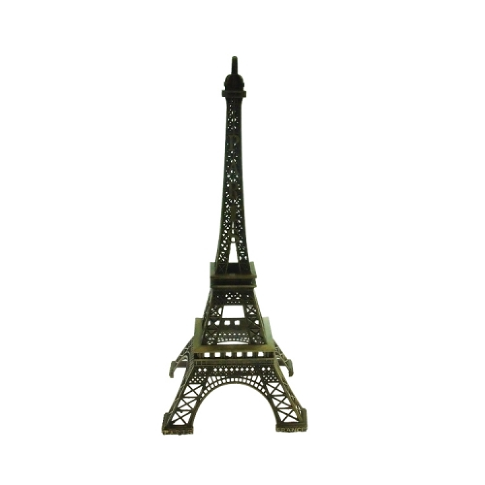 Miniatura de Torre Eiffel G em Metal - 40x15 cm