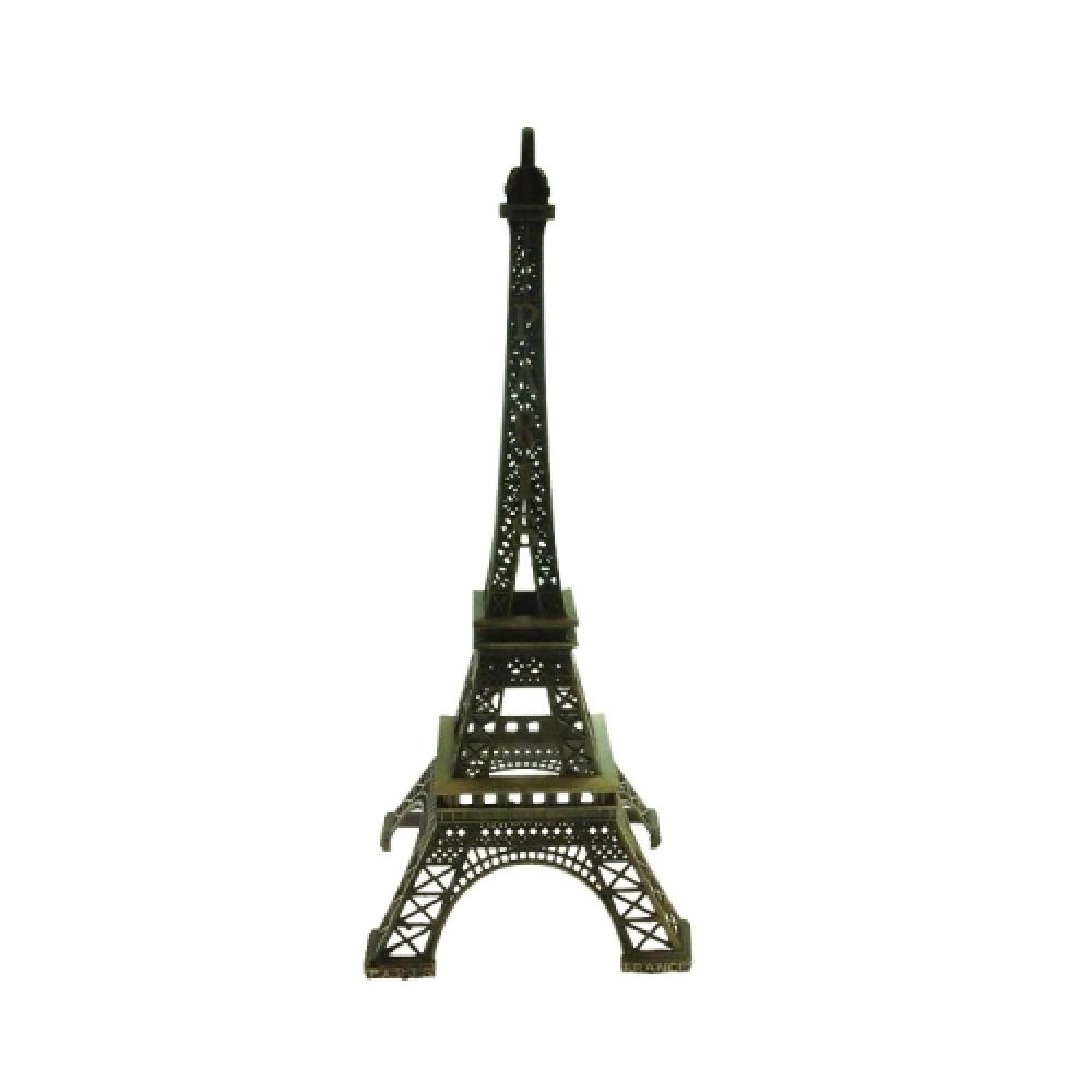 Miniatura de Torre Eiffel GG em Metal - 48x18 cm