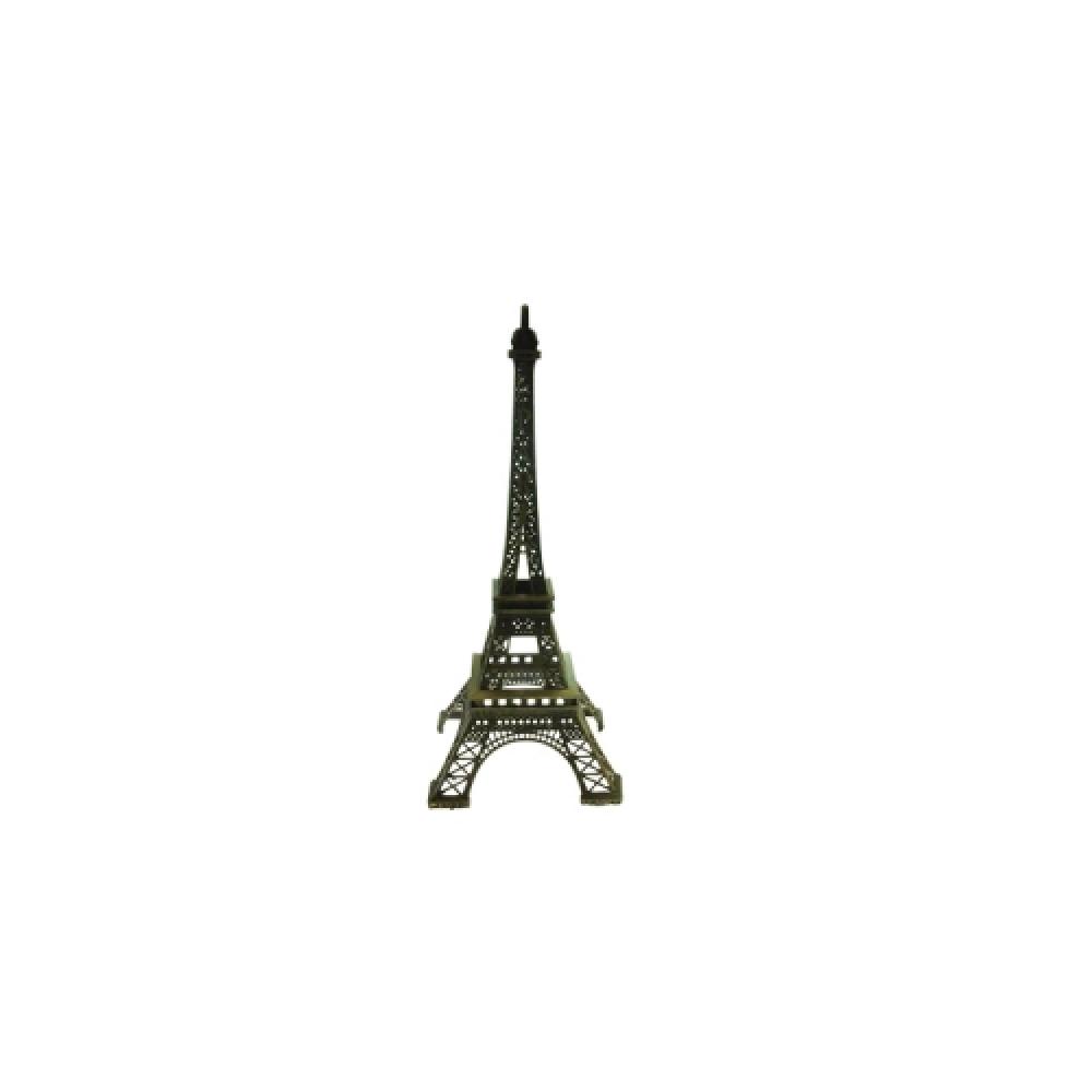 Miniatura de Torre Eiffel PP em Metal - 18x6 cm
