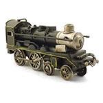 Miniatura de Trem Preto Oldway