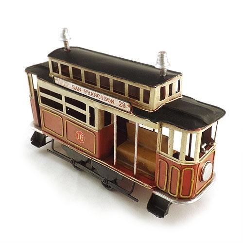 Miniatura de Vagão de Trem Retrô Oldway - Em Metal - 27x17 cm