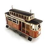 Miniatura de Vagão de Trem Retrô