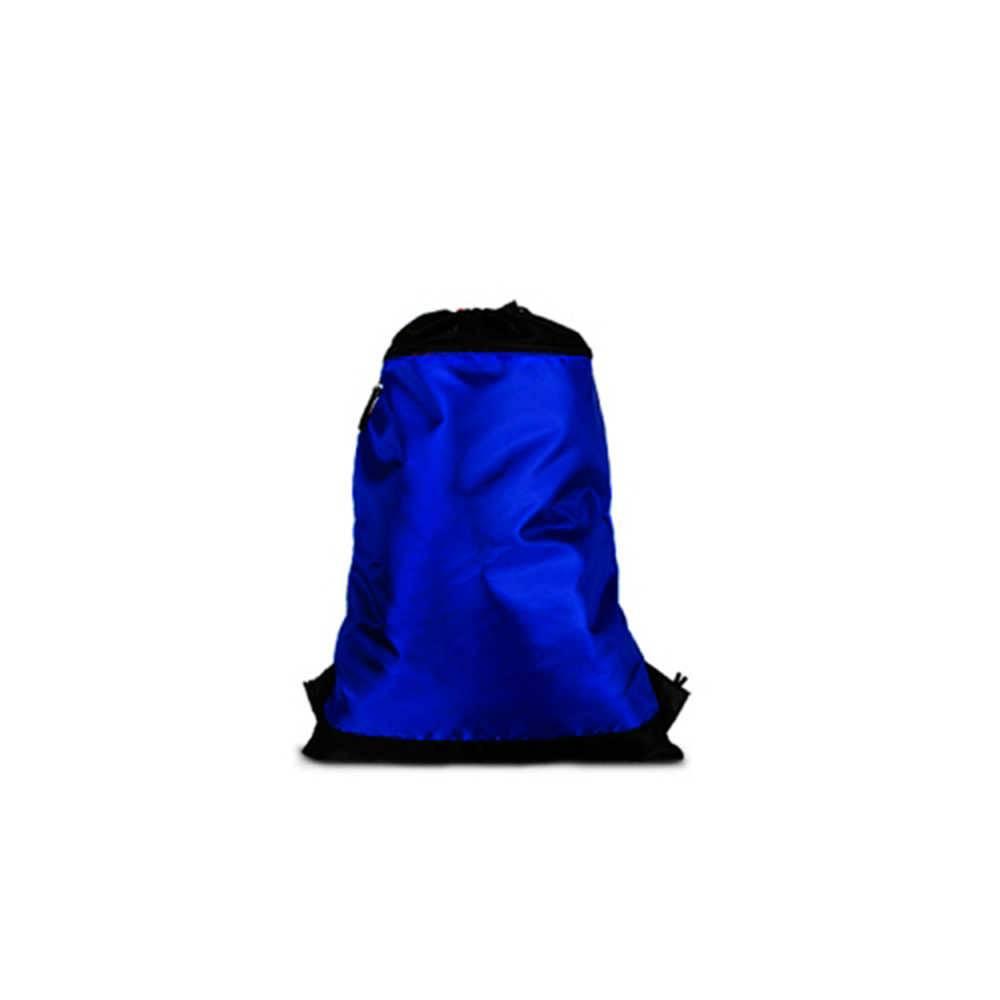 839573ca1 Mochila Saco Azul em Nylon - 50x35 cm - Compre Bolsas   Carro de Mola