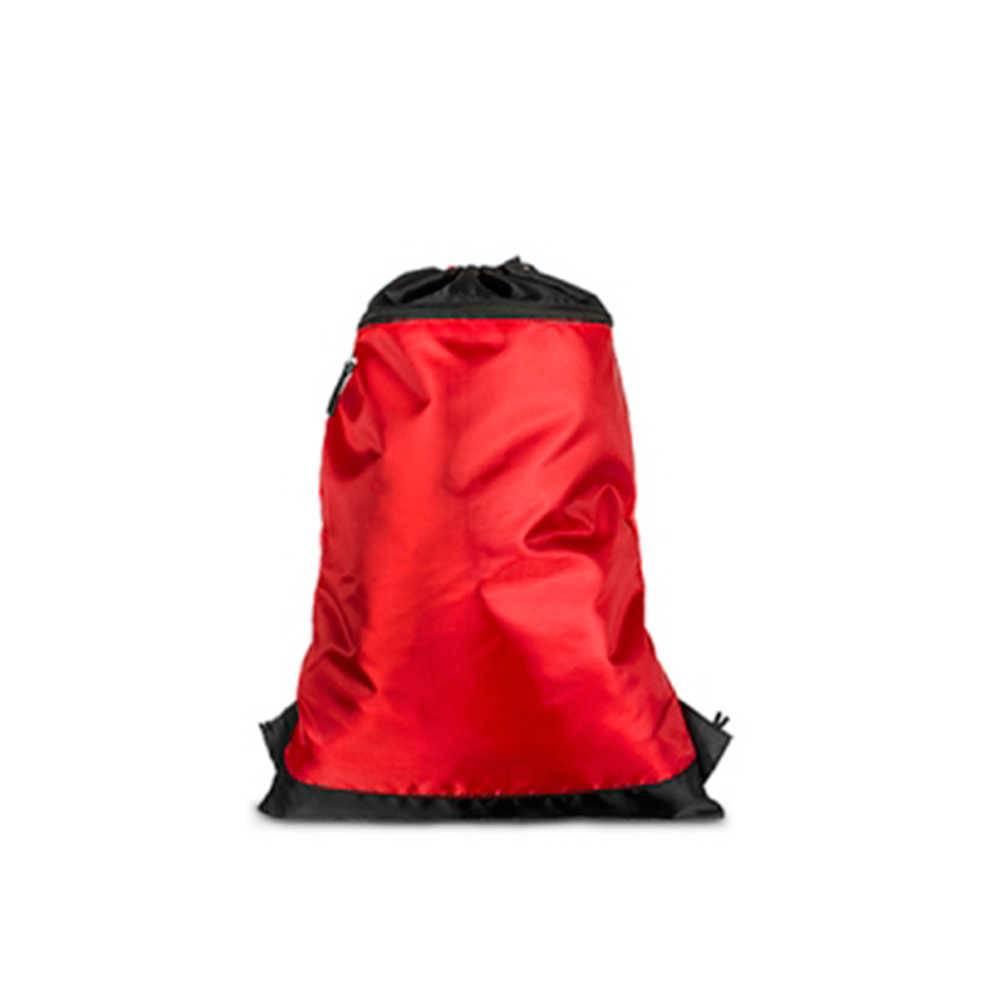 b8106e5a2 Mochila Saco Vermelha em Nylon - 50x35 cm - Compre Bolsas   Carro de ...