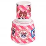 Moringa Gatos de Família - Carpe Diem - 750 ml em Porcelana