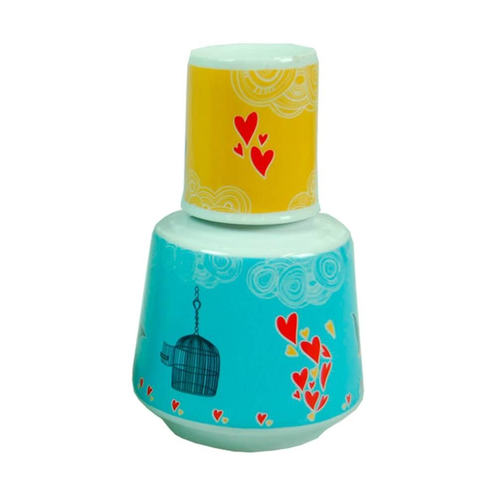 Moringa Liberdade - Carpe Diem - 750 ml em Porcelana - 16x10 cm