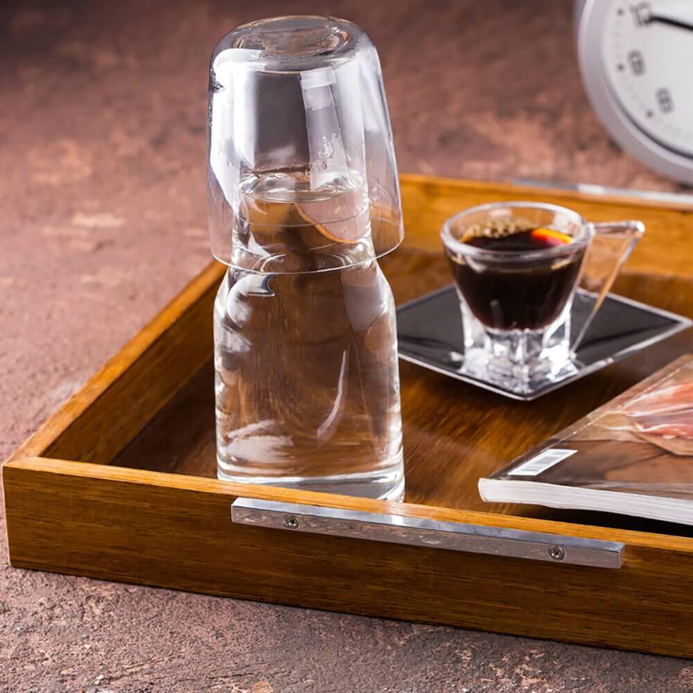 Moringa Lidia Transparente em Vidro - Bon Gourmet - 18,5x7,3 cm