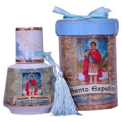 Moringa Santo Expedito Azul/Dourado em Cerâmica - 16x11 cm R$ 229,99 R$ 159,99 3x de R$ 53,33 sem juros