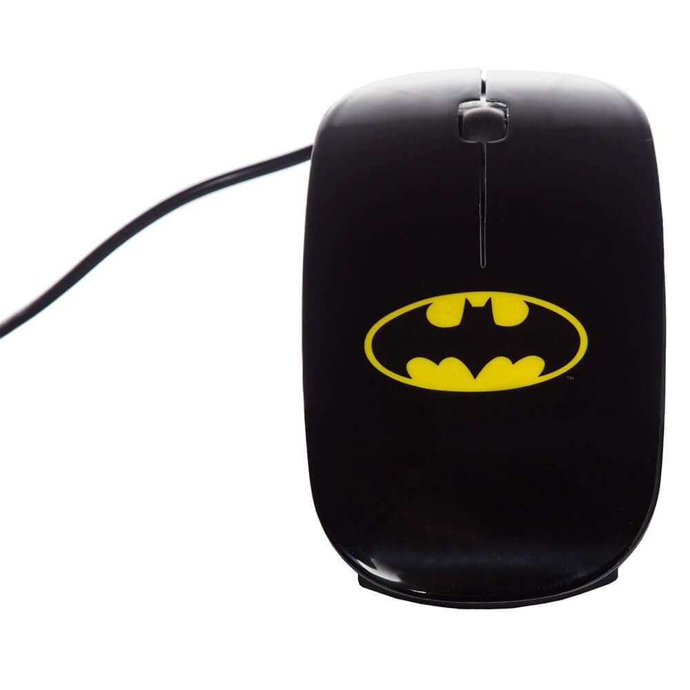 Mouse DC Comics Batman Preto - Urban - 9x5 cm