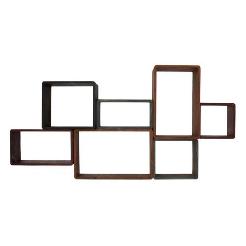 Nicho com 7 Divisórias em Madeira 130x64 cm