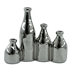 Objeto Decorativo 4 Vasos em Cerâmica