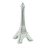 Objeto Decorativo Torre Eiffel Cromada em Cerâmica