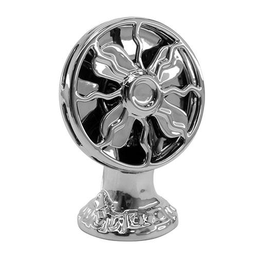 Objeto Decorativo Ventilator em Cerâmica - 21x15 cm