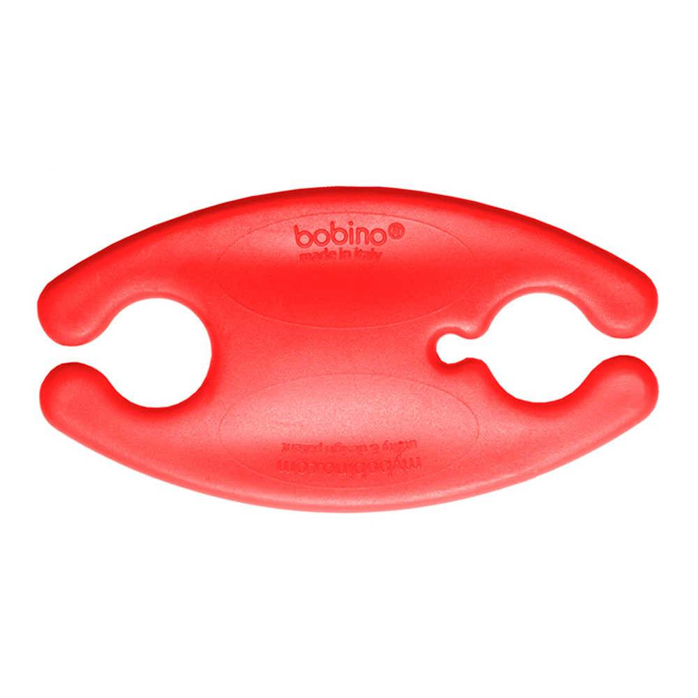 Organizador de Fios Bobino Médio Vermelho - Urban - 8x4 cm