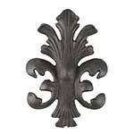Ornamento de Ferro Fundido Aberto - 21x15 cm