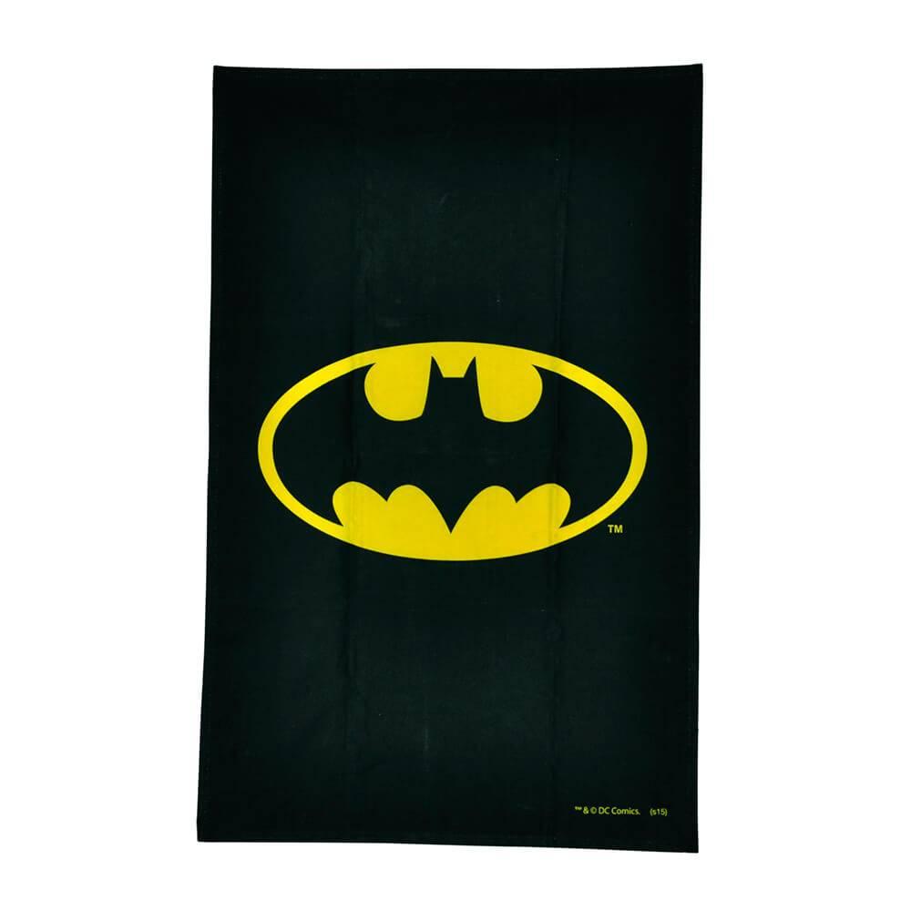 Pano de Copa DC Comics Batman Logo em Algodão - Urban - 70x45 cm