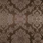 Papel de Parede Vinílico c/ Textura de Arabescos Marrom