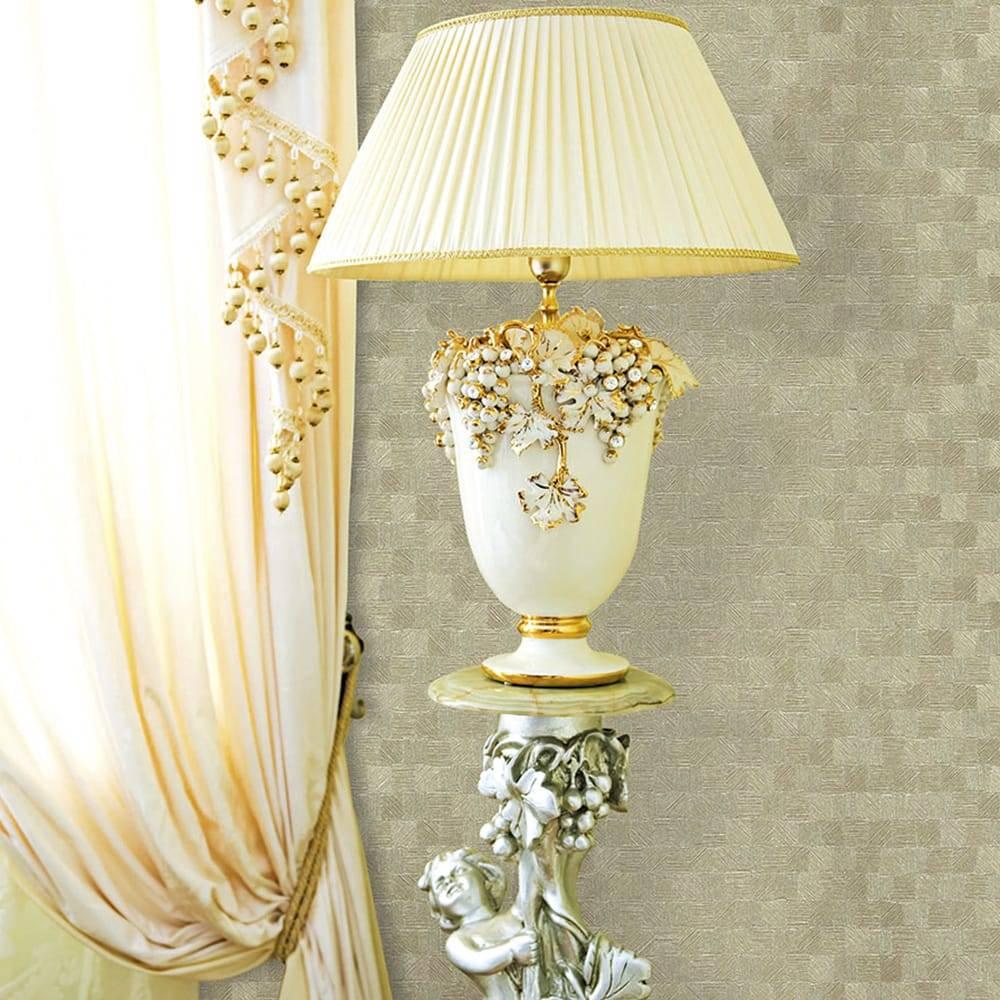 Papel de Parede Importado Vinílico Lavável Dourado c/ Textura Quadriculada - 10x0,53 m