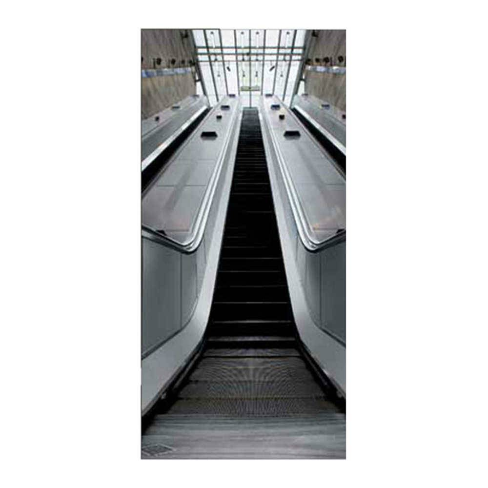 Papel de Parede para Porta Escalator Wallness - Urban - 210x95 cm