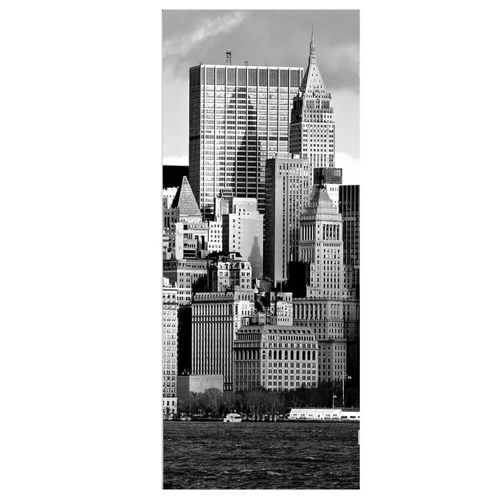 Papel de Parede para Porta New York Wallness 3 - Urban - 210x95 cm