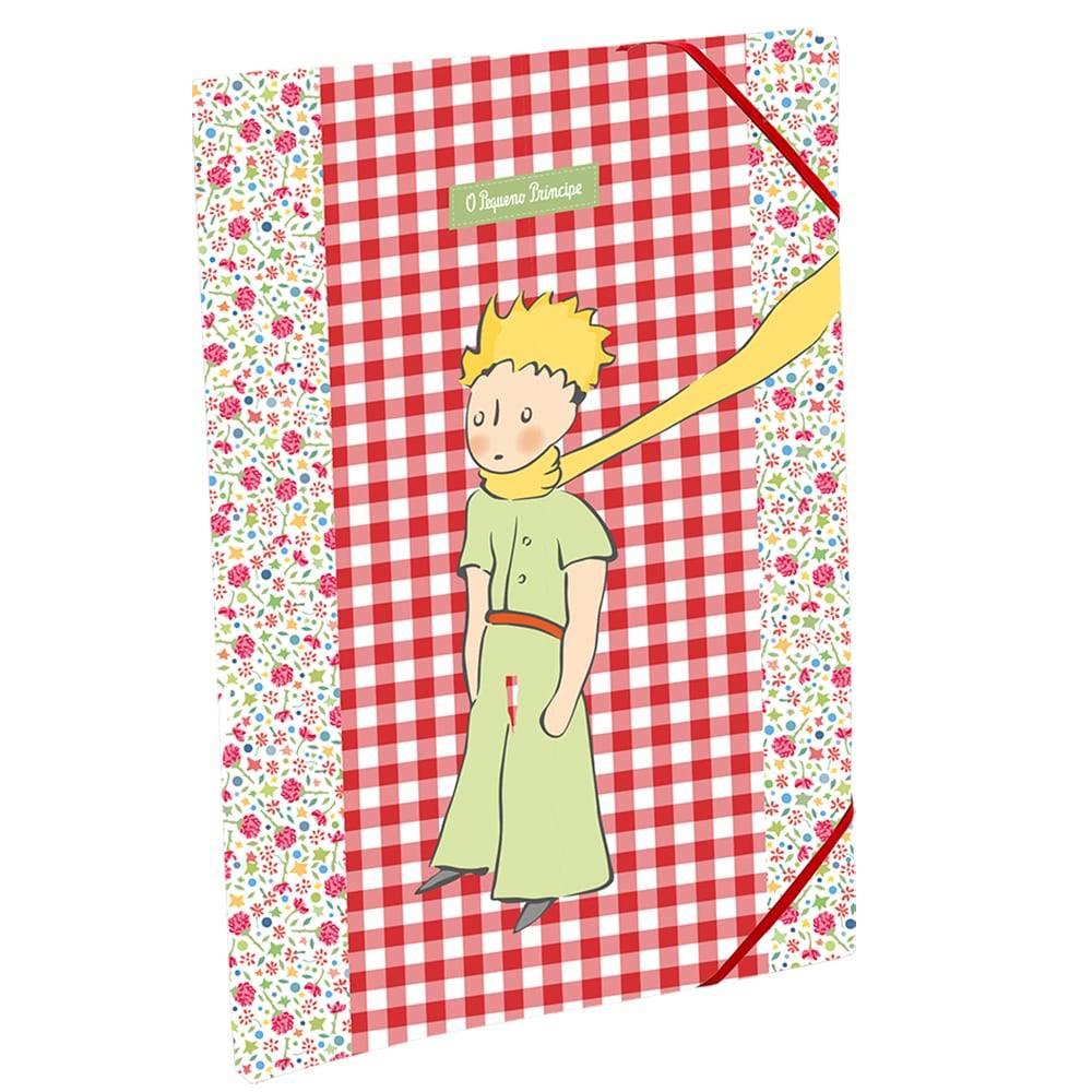 Pastinha Patchwork Floral O Pequeno Príncipe em Tecido - 33x24 cm