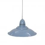 Pendente Betsy Azul Claro em Ferro - 50x23 cm
