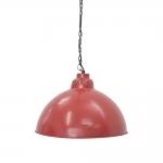 Pendente Brendon Vermelho em Ferro - 46x31 cm