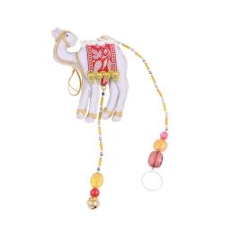Pendente Camelo Indiano Colorido em Tecido - 56x12 cm R$ 94,98 R$ 67,98 1x de R$ 61,18 sem juros