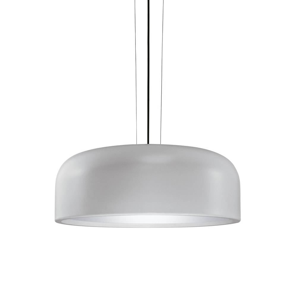 Pendente Fascinium Cinza em Metal - 34,5x17 cm