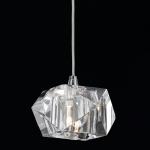 Pendente Geometrisch Translúcido - Bivolt - em Metal e Vidro