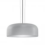Pendente Lux Decor Cinza em Metal - 48,5x20 cm