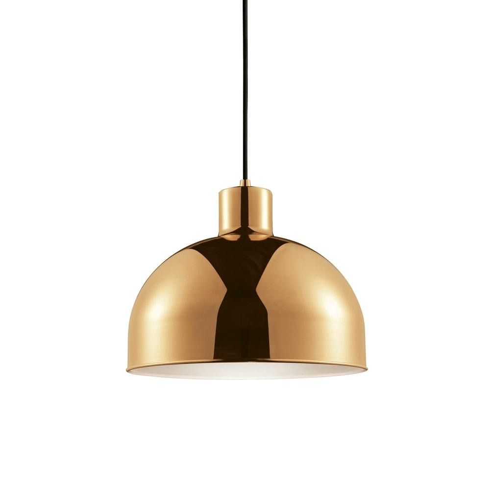Pendente Madone Dourado Bivolt em Metal - 29x24 cm