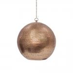 Pendente Party Globe Cobre em Alumínio - 40x35 cm