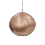 Pendente Party Globe Cobre em Alumínio - 50x45 cm