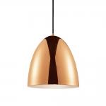 Pendente Sino Dourado em Metal - 28x25 cm