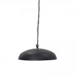Pendente Tonnet Preto Grande em Ferro - 55x12 cm